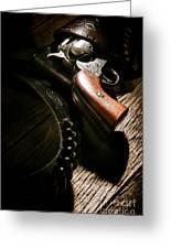 Gunslinger Tool Greeting Card
