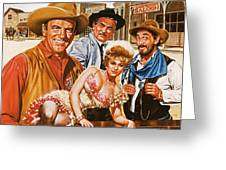 Gunsmoke Greeting Card
