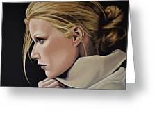 Gwyneth Paltrow Painting Greeting Card
