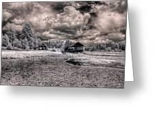 Gypsy Bay Road Lumber Mill 1 Greeting Card