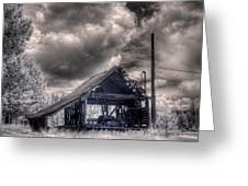 Gypsy Bay Road Lumber Mill 3 Greeting Card