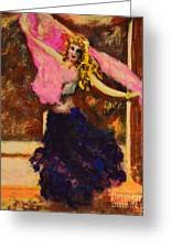 Gypsy Dancer Greeting Card