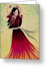Gypsy Dancer Greeting Card