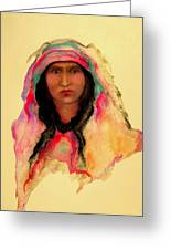 Gypsy Girl Greeting Card