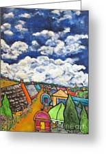 Gypsy Pilgramage Provence Greeting Card by Chaline Ouellet