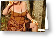 Gypsy Spice Greeting Card