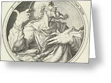 H James The Less, Zacharias Dolendo, Jacob De Gheyn II Greeting Card