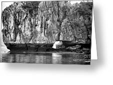 Ha Long Bay Rock I Greeting Card