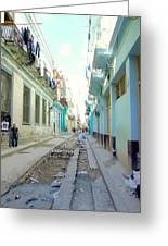 Habana Street Greeting Card