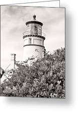 Haceta Head Lighthouse 2 Greeting Card