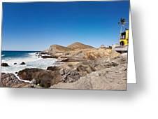 Hacienda Cerritos On The Pacific Ocean Greeting Card