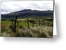 Hacienda El Porvenir Ranch View Greeting Card