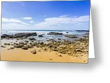 Hadera Mediterranean Beach Greeting Card