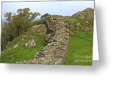 Hadrian's Wall Near Walltown Quarry Greeting Card