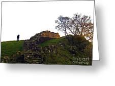 Hadrians Wall Greeting Card