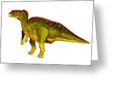 Hadrosaurus Greeting Card