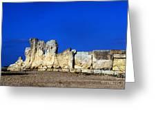 Hagar Qim Stone Temple, Malta Greeting Card