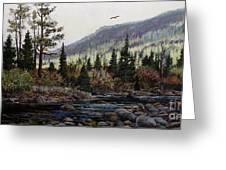 Hagerman Peak Greeting Card by W  Scott Fenton