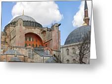 Hagia Sophia 02 Greeting Card