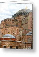 Hagia Sophia 04 Greeting Card