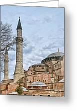 Hagia Sophia 07 Greeting Card