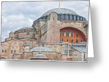 Hagia Sophia 10 Greeting Card