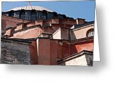 Hagia Sophia Angles 01 Greeting Card