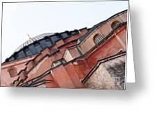 Hagia Sophia Angles 03 Greeting Card