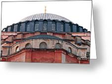 Hagia Sophia Curves 02 Greeting Card