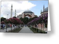 Hagia Sophia I - Istanbul - Turkey Greeting Card