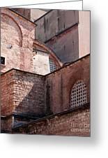 Hagia Sophia Walls 02 Greeting Card