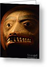 Tlingit Mask Greeting Card