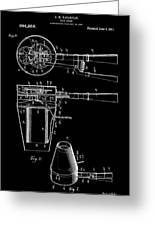 Hair Dryer 2 Patent Art 1911 Greeting Card