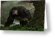 Hairy Beast Greeting Card