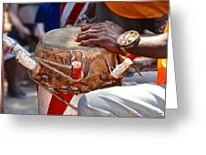 Haitian Hands Greeting Card