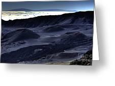 Haleakala Crater Hawaii Greeting Card