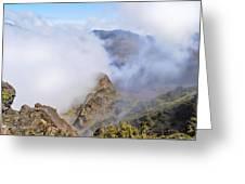 Haleakala Mists Greeting Card