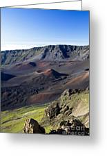 Haleakala Sunrise On The Summit Maui Hawaii - Kalahaku Overlook Greeting Card by Sharon Mau