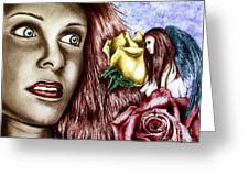 Haleys Apparition Colored Greeting Card