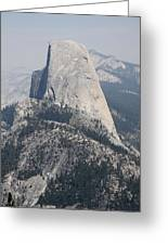 Half Dome Glacier Point Greeting Card