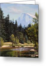 Half Dome Greeting Card
