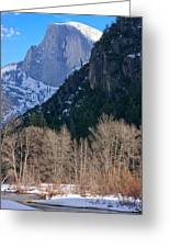 Half Dome - Yosemite Greeting Card