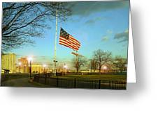 Half Mast Greeting Card