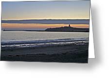 Half Moon Bay Sunset Greeting Card