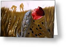 half the seed of Europe Greeting Card