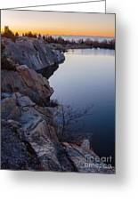 Halibut Point In Rockport Greeting Card