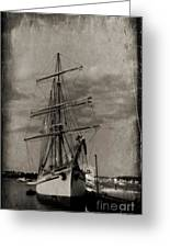 Halifax Harbour Greeting Card by John Malone