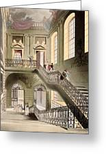 Hall And Staircase At The British Greeting Card