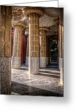 Hall Of 100 Columns Greeting Card