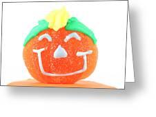 Halloween Pimpkin Sweet Greeting Card